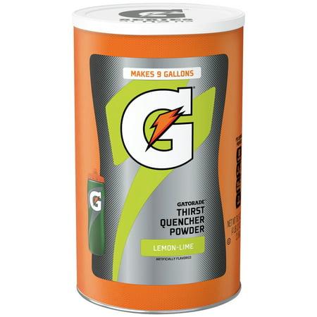 Gatorade Powder Lemon Lime 76.5 Ounce ()