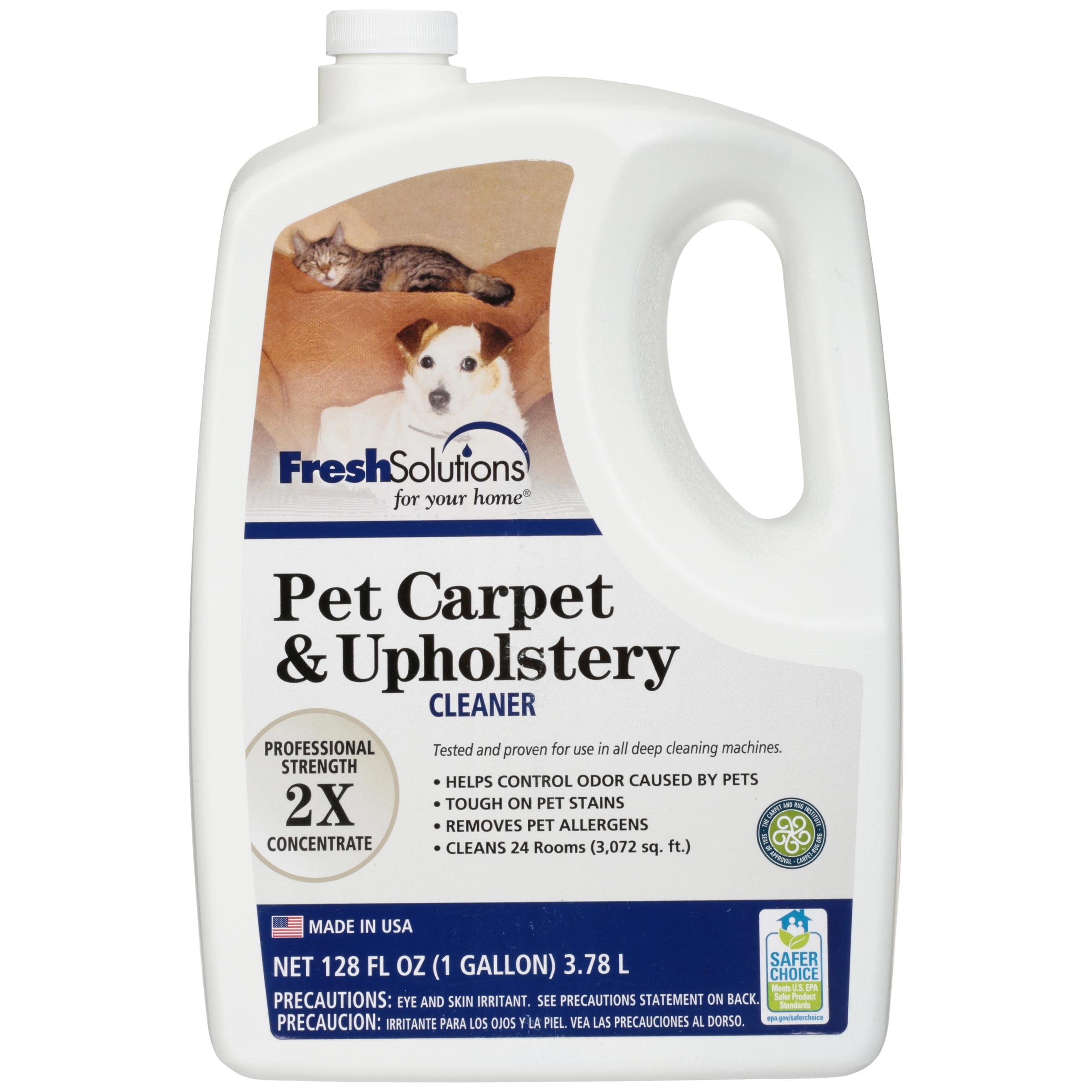 Fresh Solutions Pet Carpet & Upholstery Cleaner, 128 fl oz