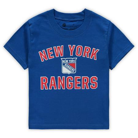 New York Rangers Fanatics Branded Toddler Team Victory Arch T-Shirt - - New York Rangers Hockey