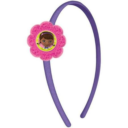 Doc McStuffins hair bow with headband diff you pick headband