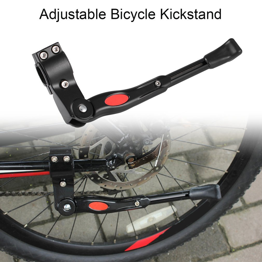 Bicycle Side Kickstand Aluminum Alloy Adjustable Universal Road Bike Parking Bicycle Frame