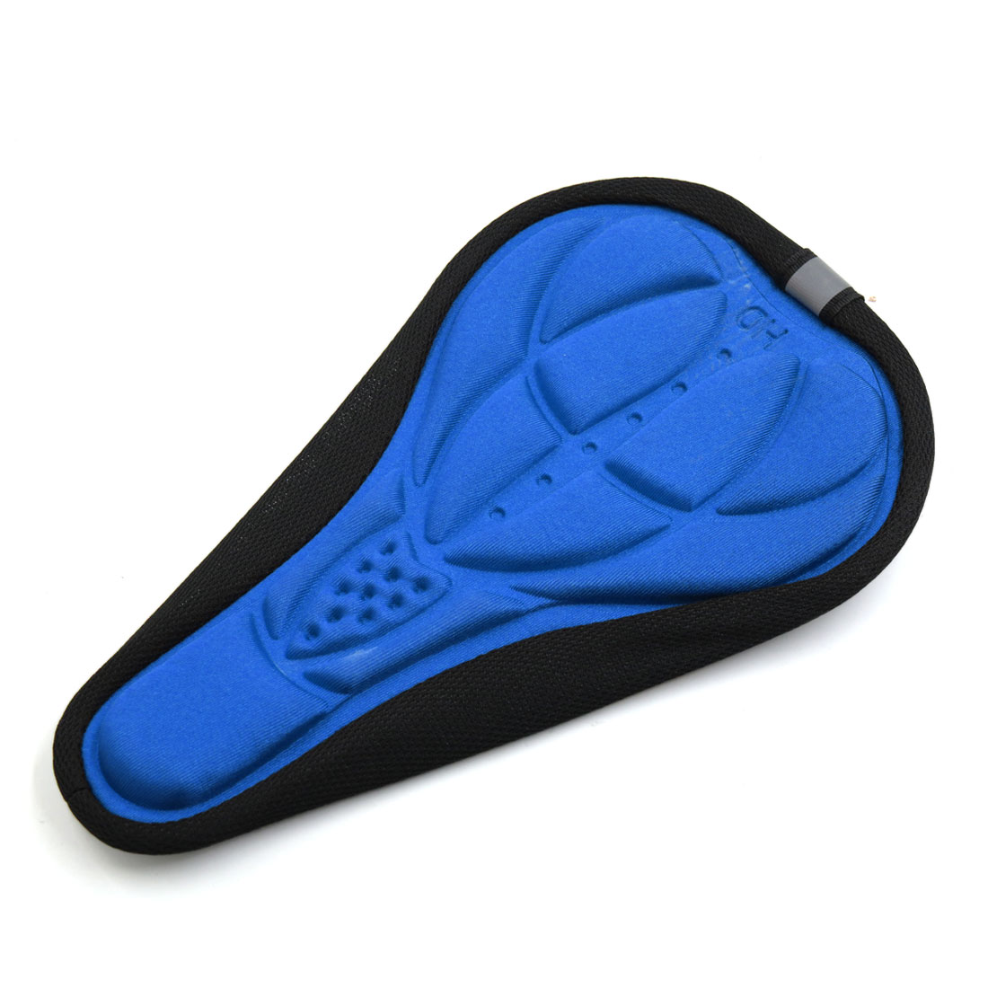 3D Silicone Pad Seat Saddle Cover Soft Cushion Blue for Car MTB Bike Bicycle