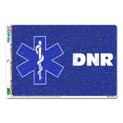 DNR Do Not Resuscitate With Star Of Life MAG-NEATO'S(TM) Puzzle Magnet