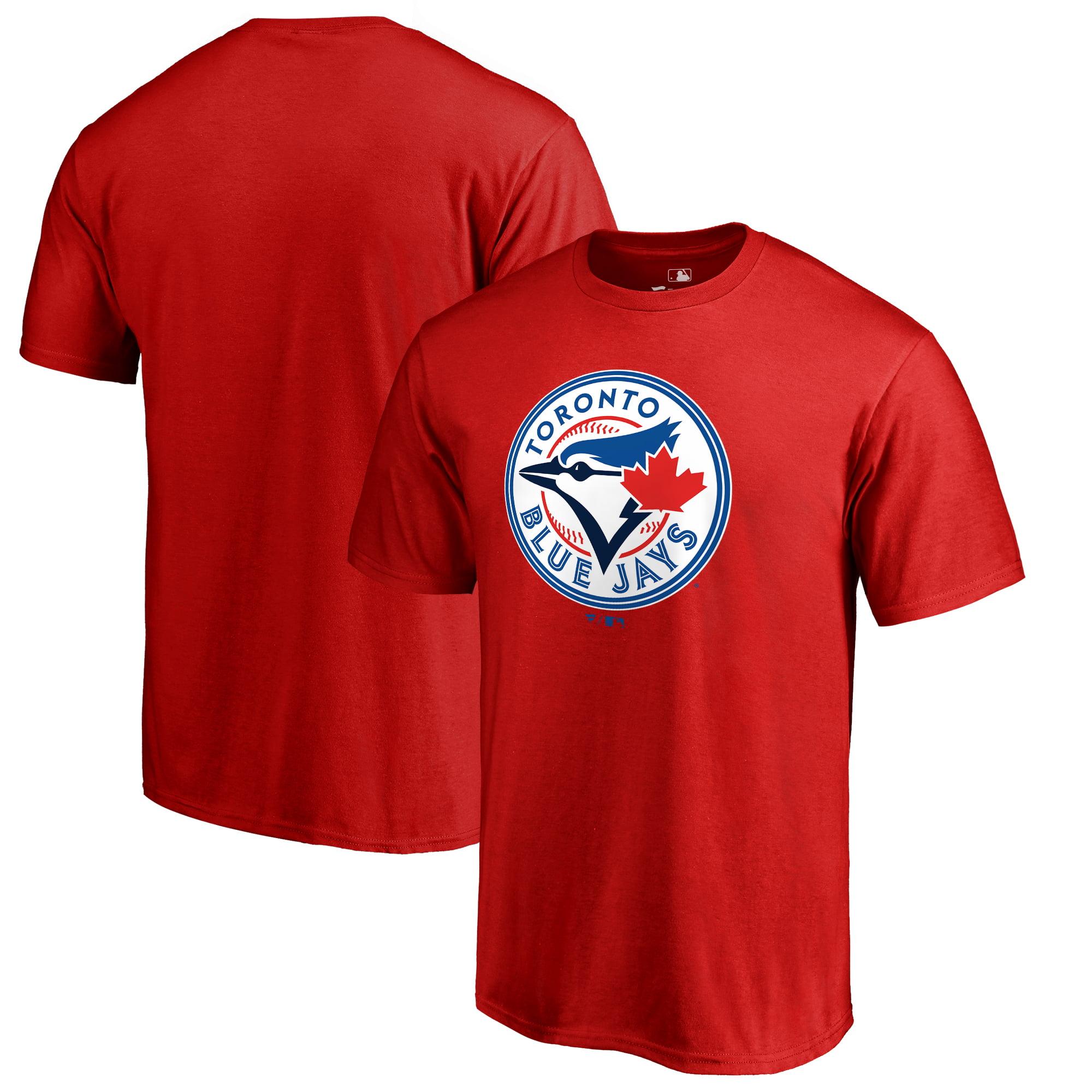 Toronto Blue Jays Fanatics Branded Team Wordmark T-Shirt - Red
