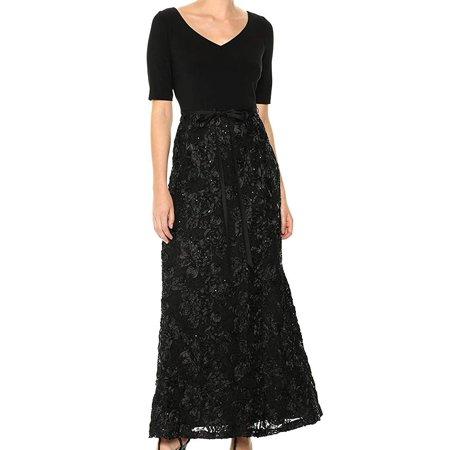 Alex Evenings Sleeveless - Elbow-Length Sleeve Dress