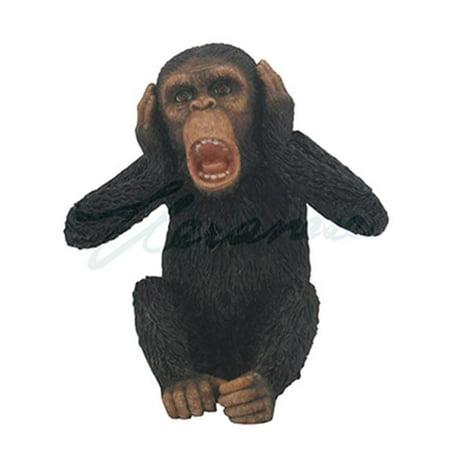 Unicorn Studios WU76437BA Wise Monkey Hear No Evil Sculpture