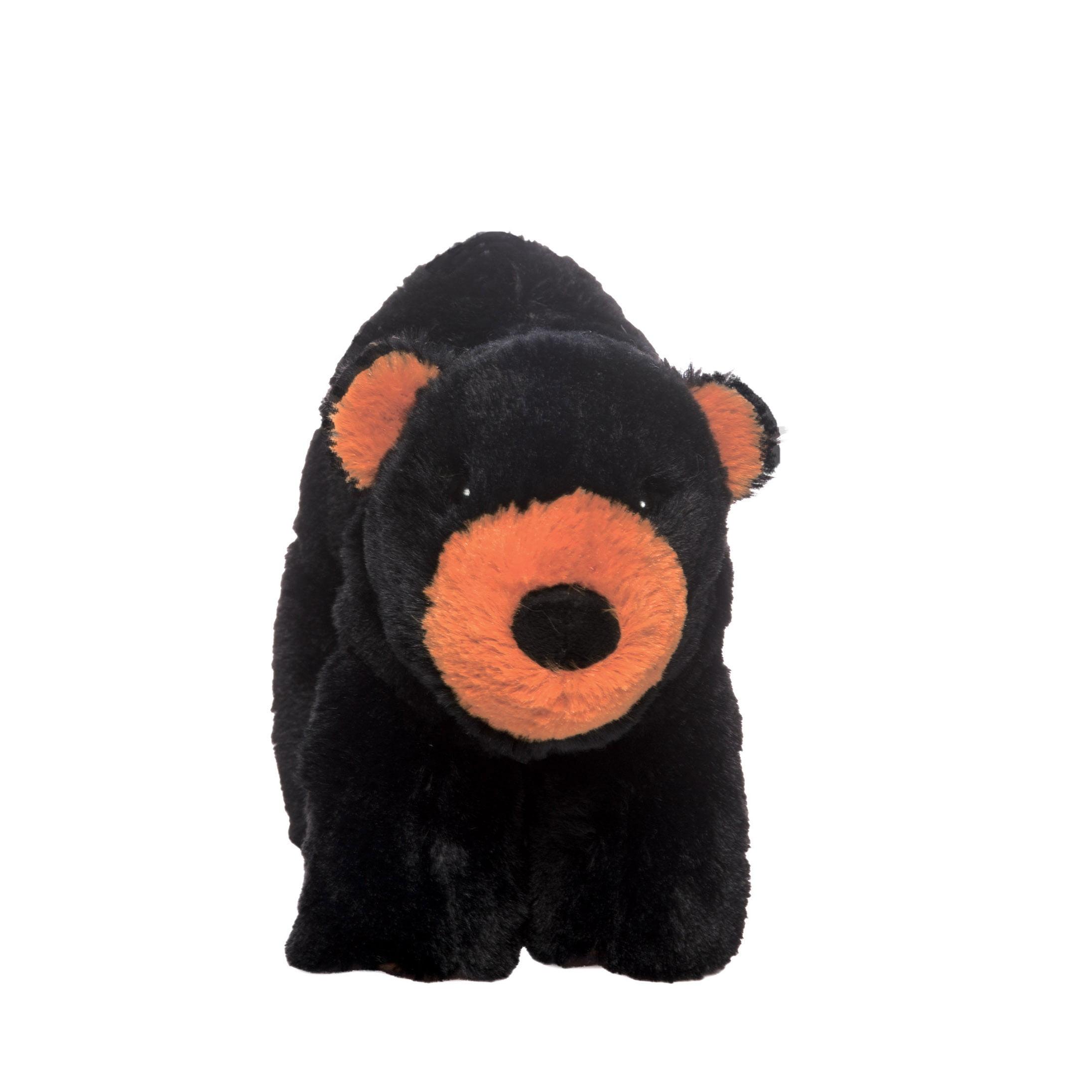 "Manhattan Toy Voyagers Harley Black Bear 6"" Plush Toy by Manhattan Toy"