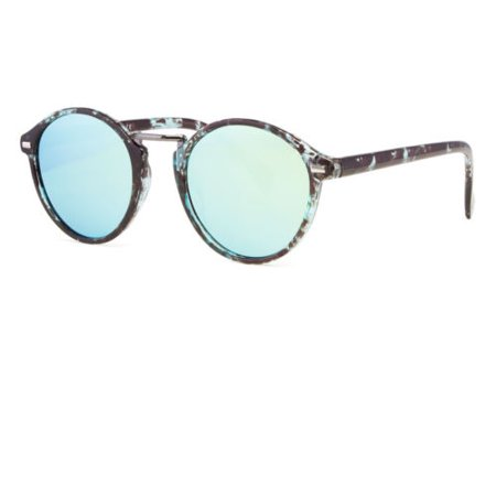 Vintage Retro Men Women Round Oliver People Sunglasses Glasse Eyewear color (Oliver Peoples Sunglass Case)