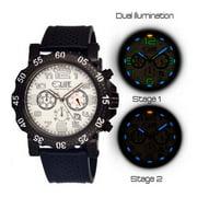 Best Tritium Watches - Equipe Tritium Rivet Mens Watch, Black-White-Black Review