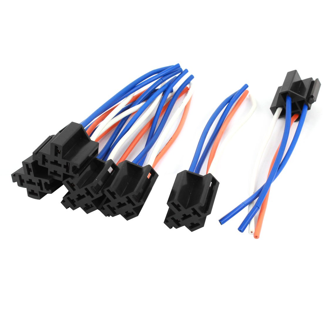 Auto Car Alarm Relay Harness Wire Cable 4 Pin Wire Socket Connector  Pin Wire Harness Adapter on