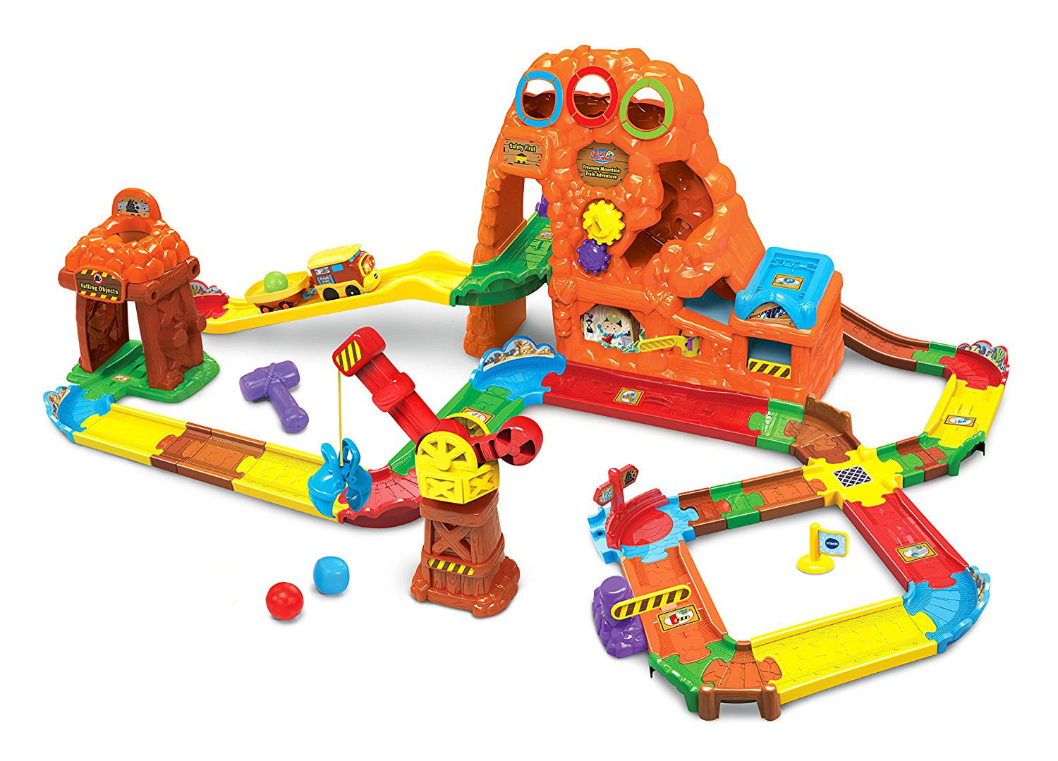 VTech Go! Go! Smart Wheels Treasure Mountain Train Adventure by