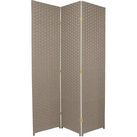 6' Tall Woven Fiber Room Divider, Special Edition