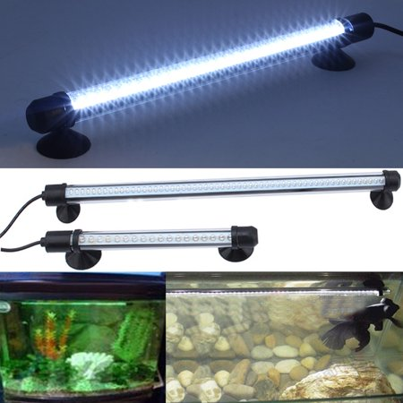 LED Aquarium Light For Fish Tanks,57 LED Bar Underwater Submersible Light Lamp - Submersible Lights