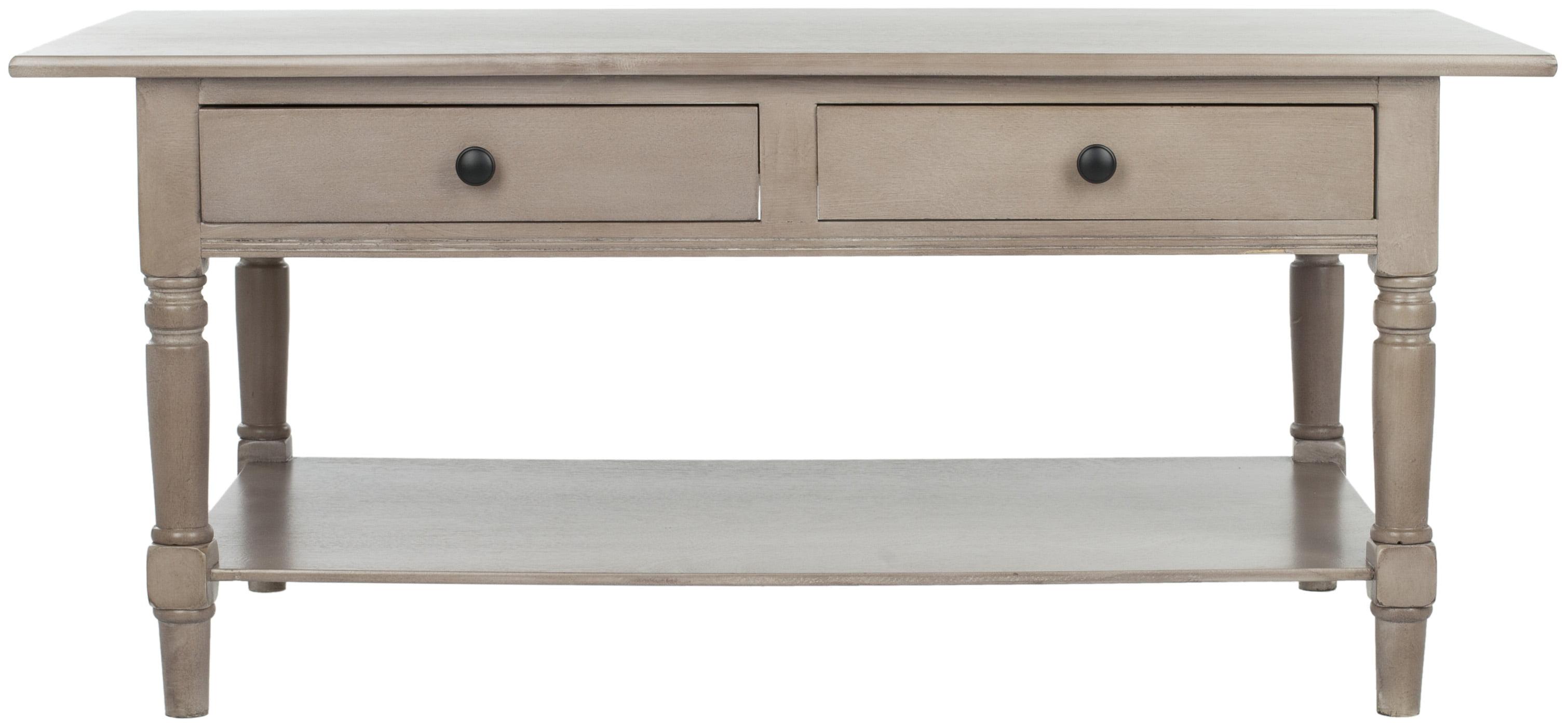 safavieh boris 2 drawer coffee table walmart com
