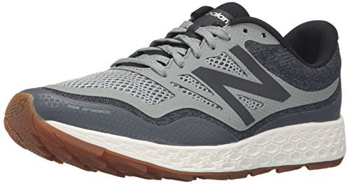 New Balance Men's Fresh Foam Gobi Trail Running Shoe, Green/Grey, 7.5 D US