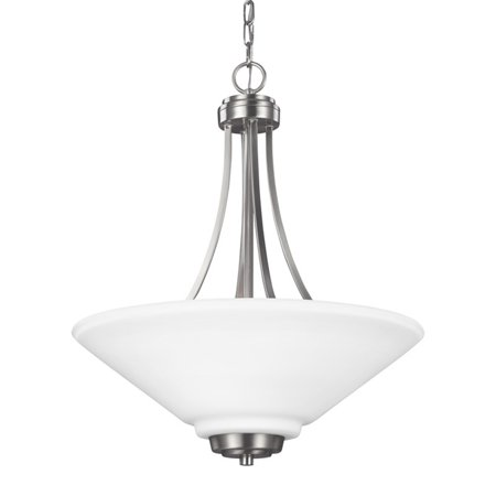 Sea Gull Lighting Parkfield 6613003 3-Light Pendant ()