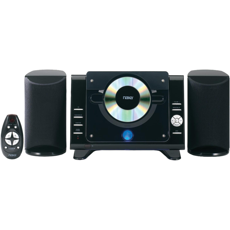 Naxa NS-435 Digital CD/MP3 Micro System with AM/FM Radio