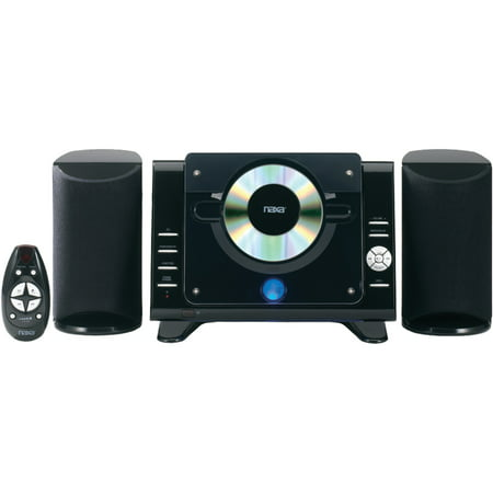 - Naxa NS-435 Digital CD/MP3 Micro System with AM/FM Radio