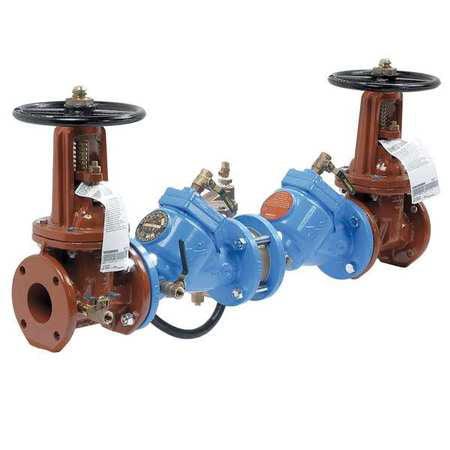 WATTS 2 1/2 DLF909-OSY Reduced Pressure Zone Backflow