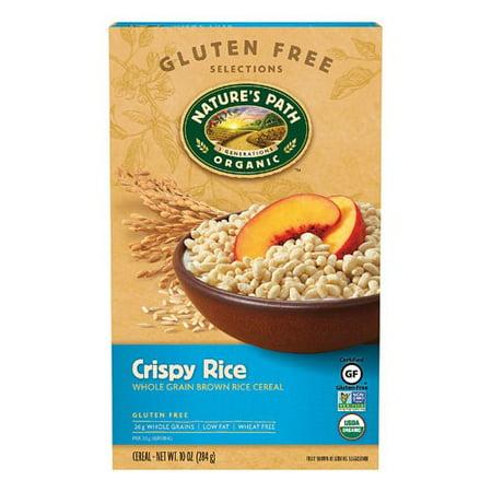 Nature's Path Organic Crispy Rice Cereal, Original, 10 Oz (Halloween Rice Crispy Balls)
