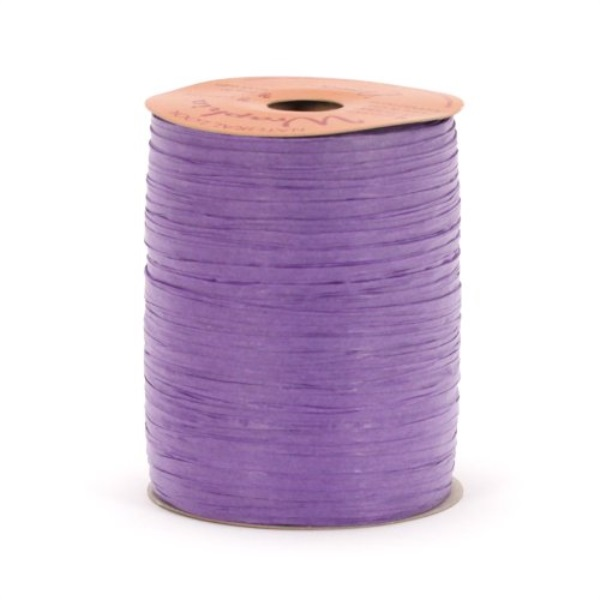 100 Yards Coral Pink Berwick Offray 1//4 Wide Matte Raffia Ribbon