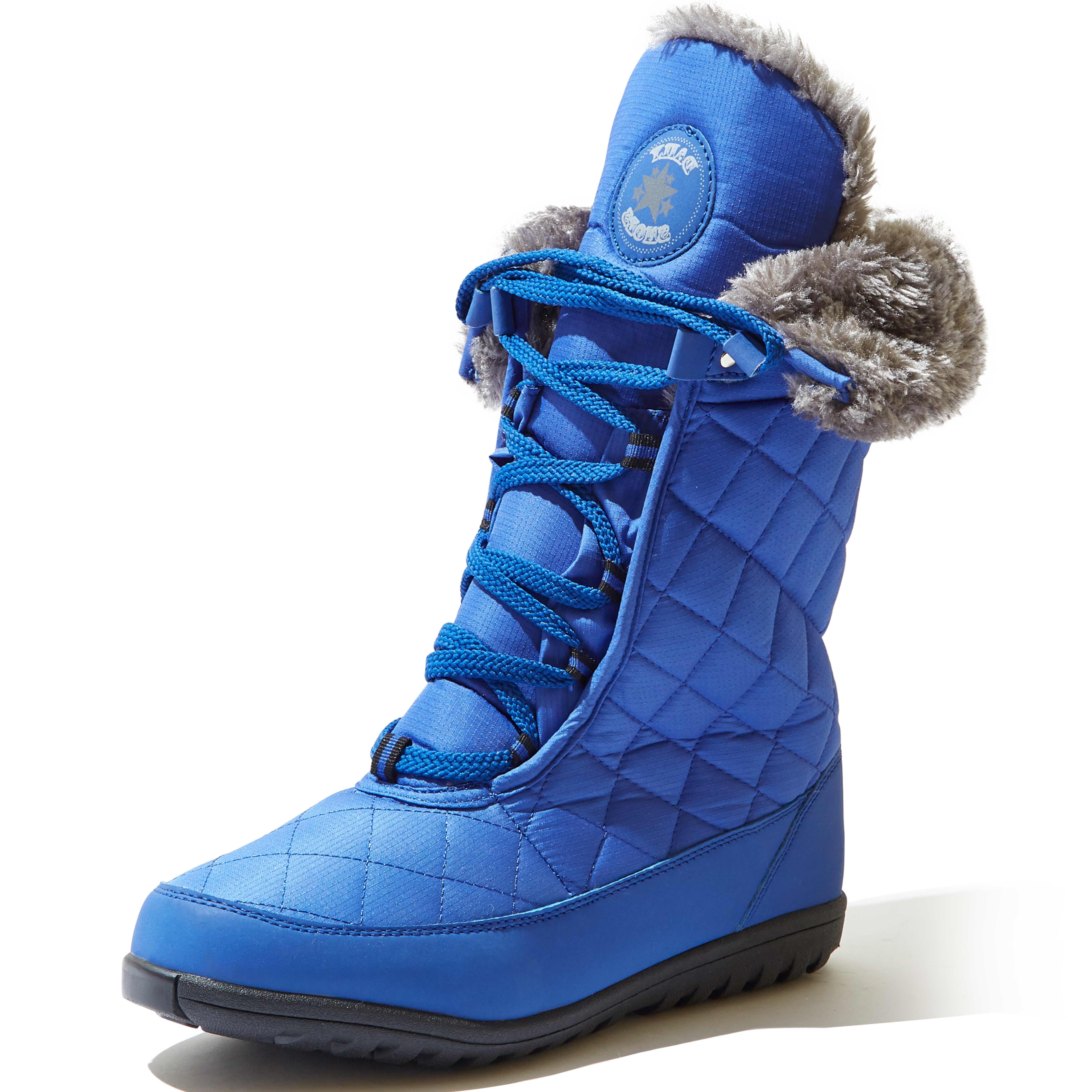 Eskimo Fur Snow-01 Royal Blue