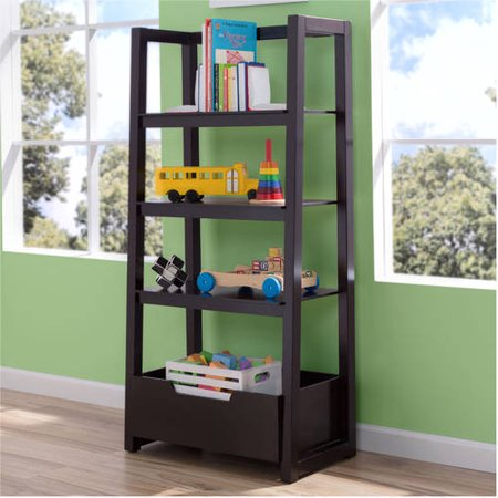 Delta Children Gateway Ladder Shelf, (Choose Your Finish)