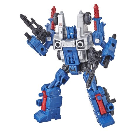 Transformers Generations War for Cybertron: Siege Deluxe Class WFC-S8 Cog Weaponizer Action