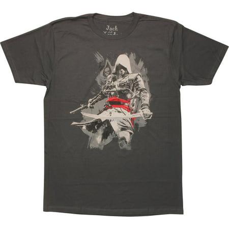 Assassins Creed Edward Kenway T-Shirt Sheer - Edward Kenway Kids