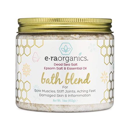 Relaxing Bath Salts & Essential Oils - Extra Soothing Spa Quality Epsom Salt, Dead Sea Salt & Essential Oil Blend For Sore Muscles, Swollen Feet, Sitz Bath for Hemorrhoids & More.
