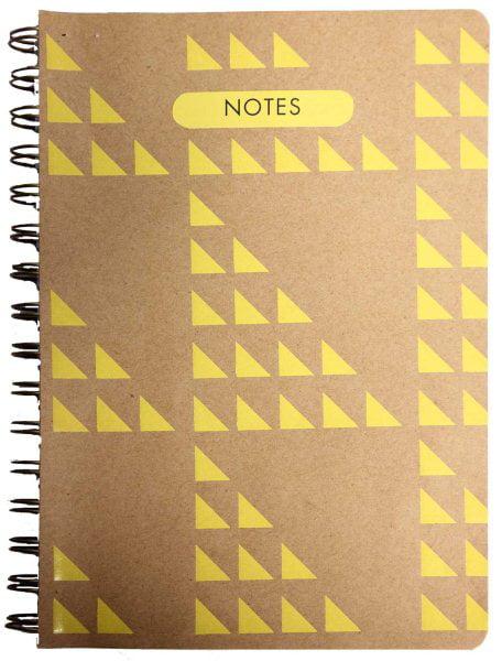 Geo Art Medium Wire-o-Bound Notebook by