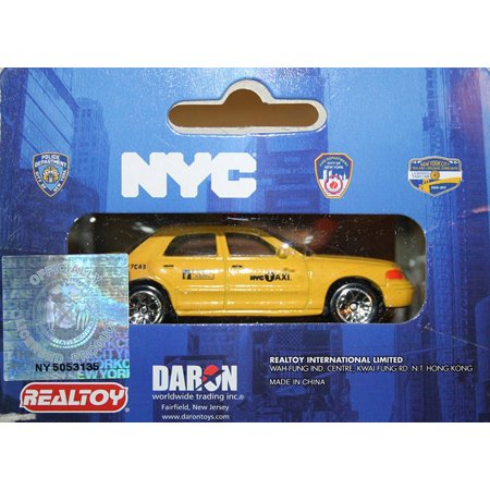 NYC Taxi, Yellow - Daron RT8953T - Diecast Model Toy (Toy Store In Nyc With Ferris Wheel)