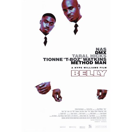 Belly (1998) 27x40 Movie Poster