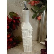 DLusso Designs B3101 Couture Line Ceramic Oil Bottle, Pack Of - 3.