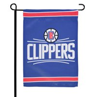 "LA Clippers WinCraft 12"" x 18"" Double-Sided Garden Flag"