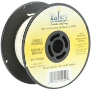 Candle Wicking Spool 50ydLarge Bleached