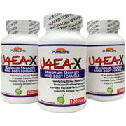 Pure Life U4EA X, 3 Pack, 120 grams Powder