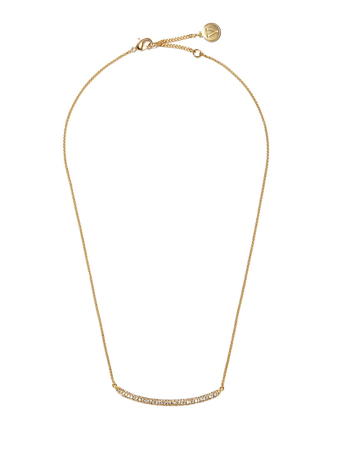 Crystal Mini Single Strand Necklace