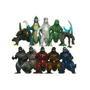 TANZKY? 10pcs Mini Godzilla Dinosaur Toys