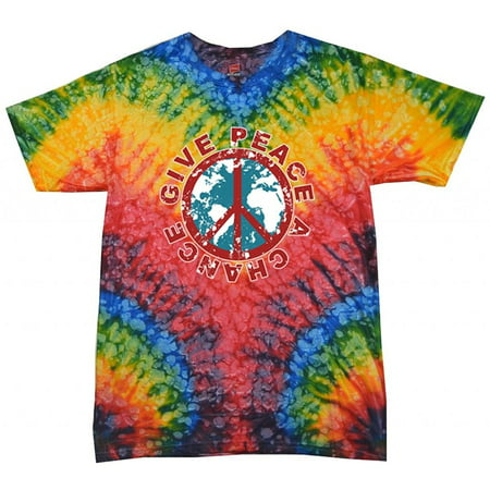 Men's Give Peace A Chance Woodstock Tee Shirt