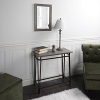 Deals on Console Table, Lamp & Mirror 3 Piece Set by Adornments