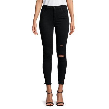 Bridgette Distressed Skinny Jeans (Nice Tops To Wear With Skinny Jeans)
