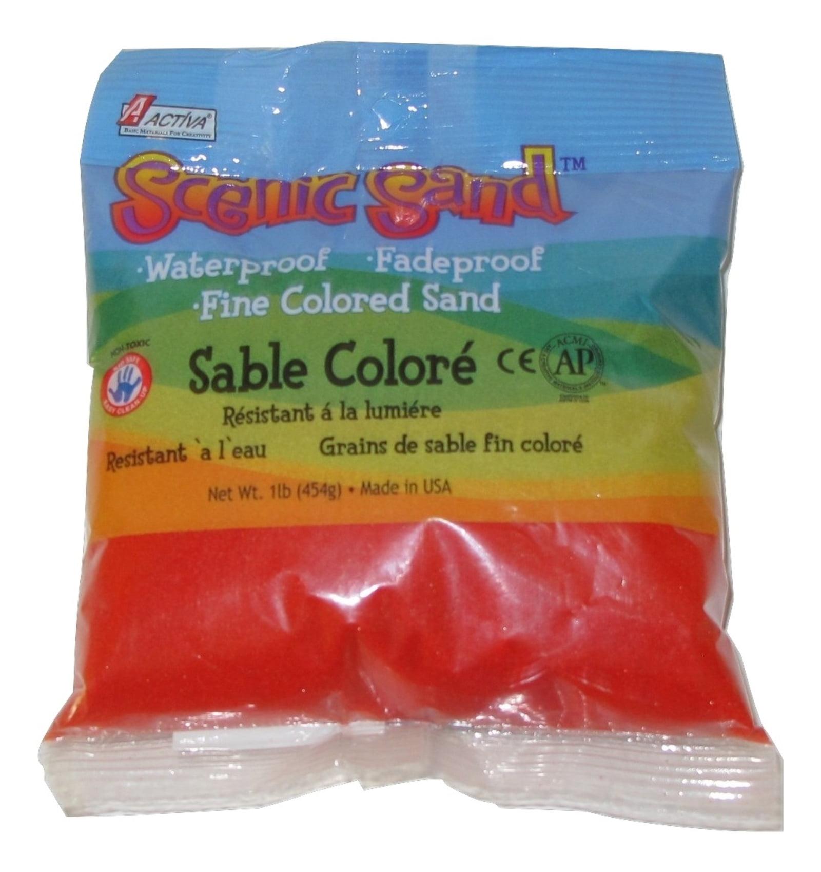 Activa Scenic Sand, 1 lb., Bright Red