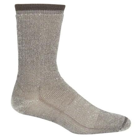 Wigwam Mills F2322-057-LG Hiking Socks, Charcoal Merino Wool, Men's Large
