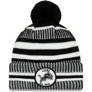 Detroit Lions New Era 2019 NFL Sideline Home Sport Knit Hat - Black - OSFA