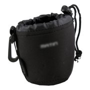 Neoprene Soft DSLR Camera Lens Pouch Case Bag to protect Lens (Small)