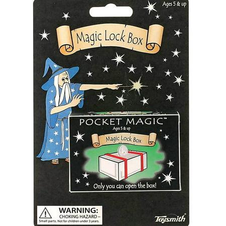 Toysmith Pocket (Toysmith Pocket Magic Tricks - Novelty Toy (Magic Lock Box))