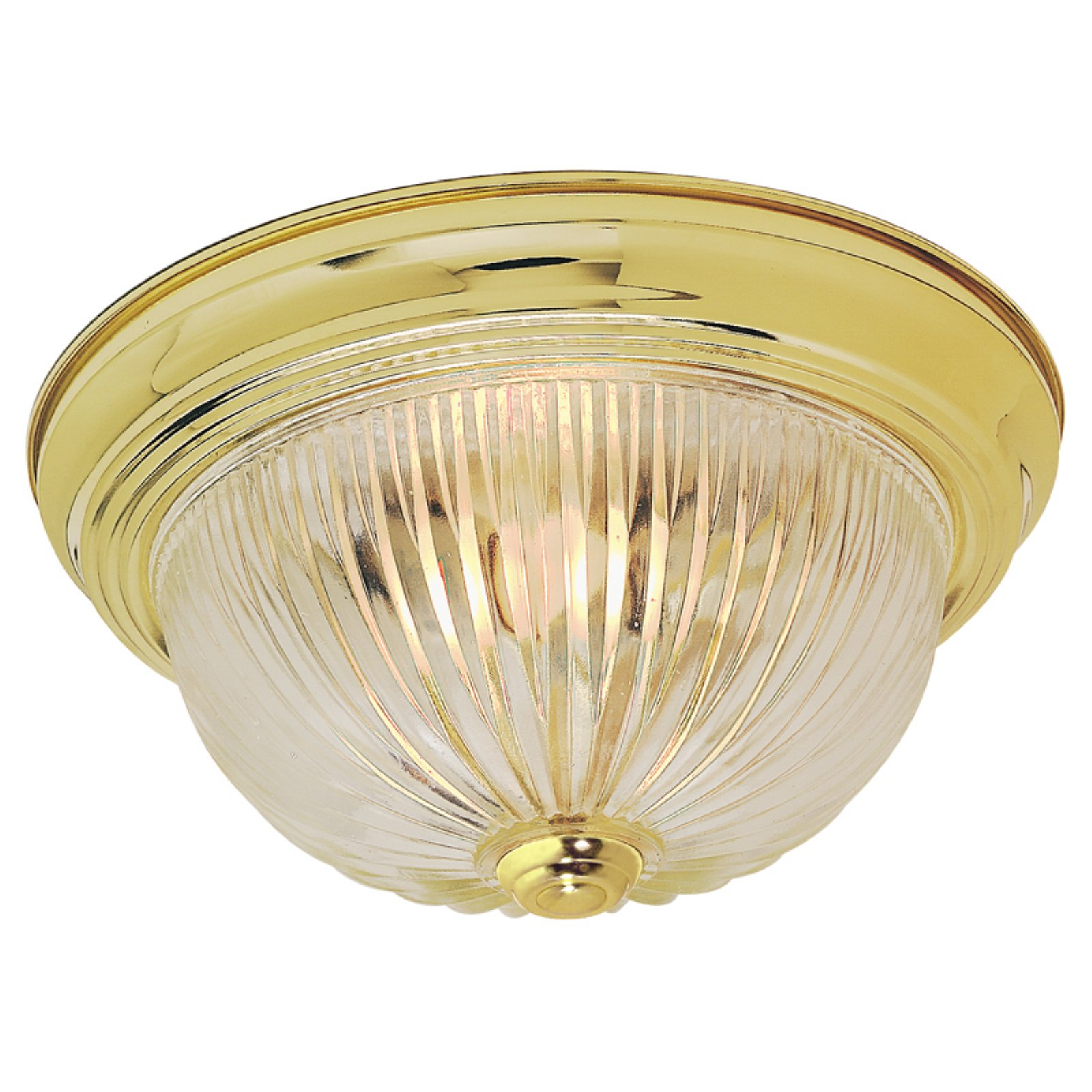 Nuvo Lighting  76/092  Ceiling Fixtures  Indoor Lighting  Flush Mount  ;Polished Brass