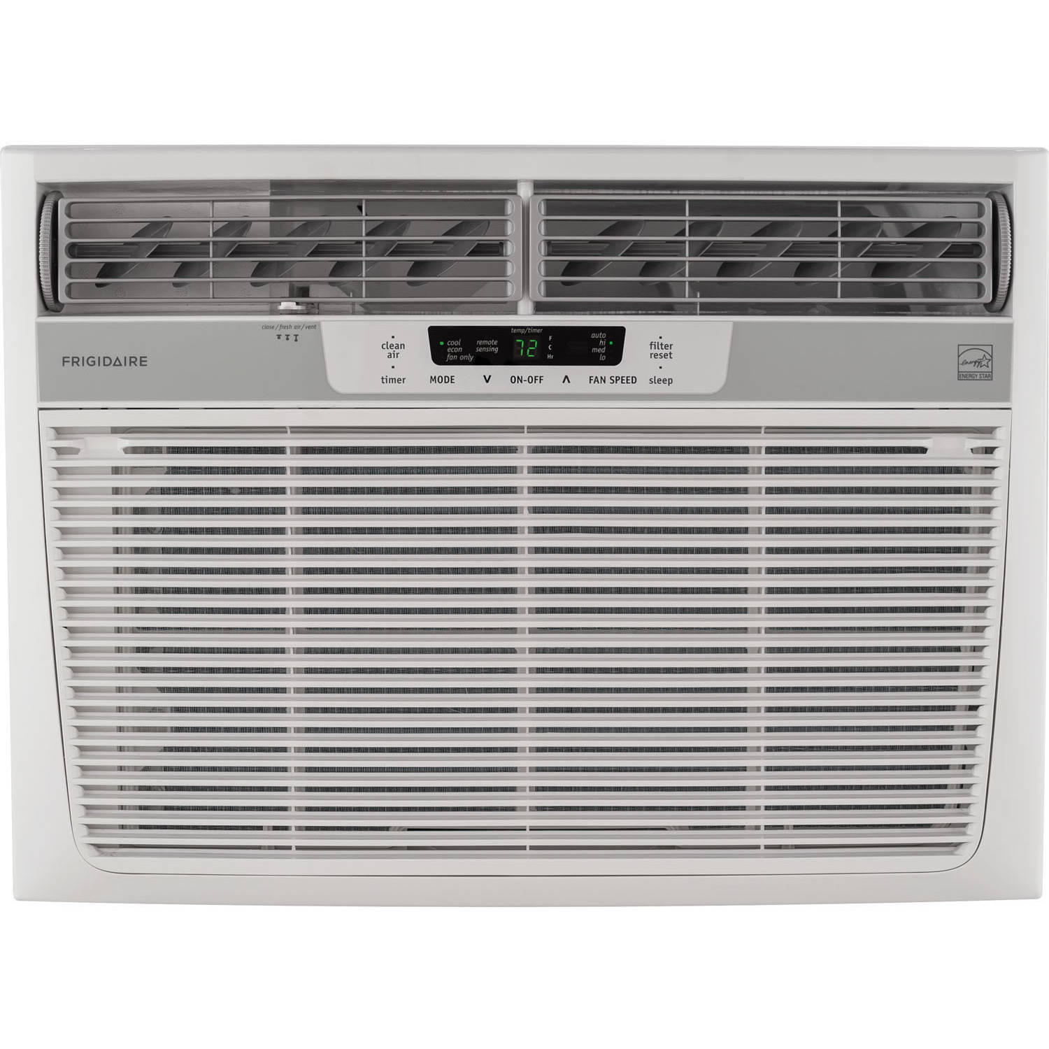 Frigidaire FFRE2533S2 25,000 BTU 230V Window-Mounted Heavy-Duty Air Conditioner with Temperature Sensing Remote Control