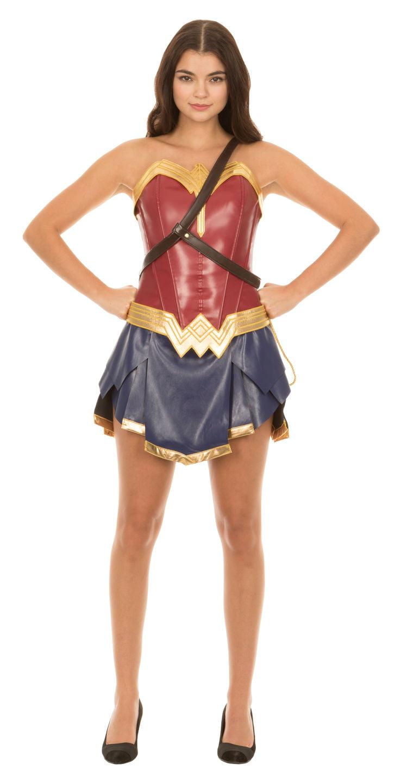 Dc Comics Wonder Woman Warrior Corset And Skirt Costume -5013